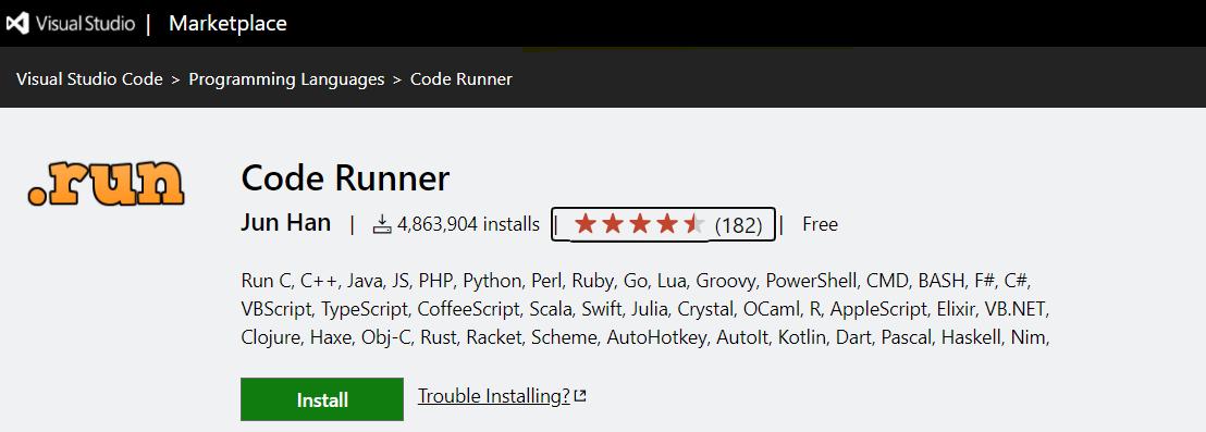 使用 VScode + Code Runner 開發 Python 輸出為中文亂碼問題