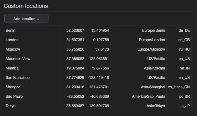 Chrome DevTools Location3