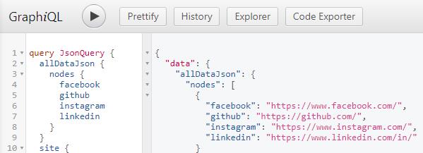 Gatsby GraphQL讀取JSON
