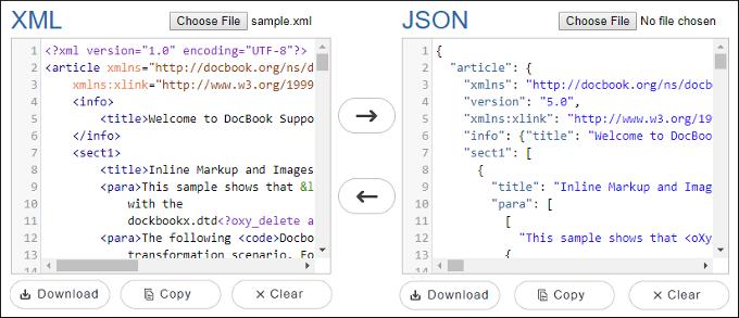 資料格式的選擇:XML & JSON
