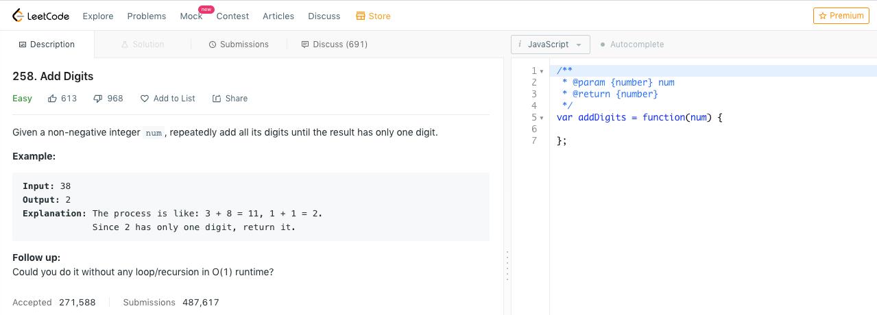 leetcode 介面