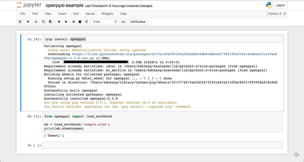 Python 自動化程式設計:如何使用 Python 程式操作 Excel 試算表