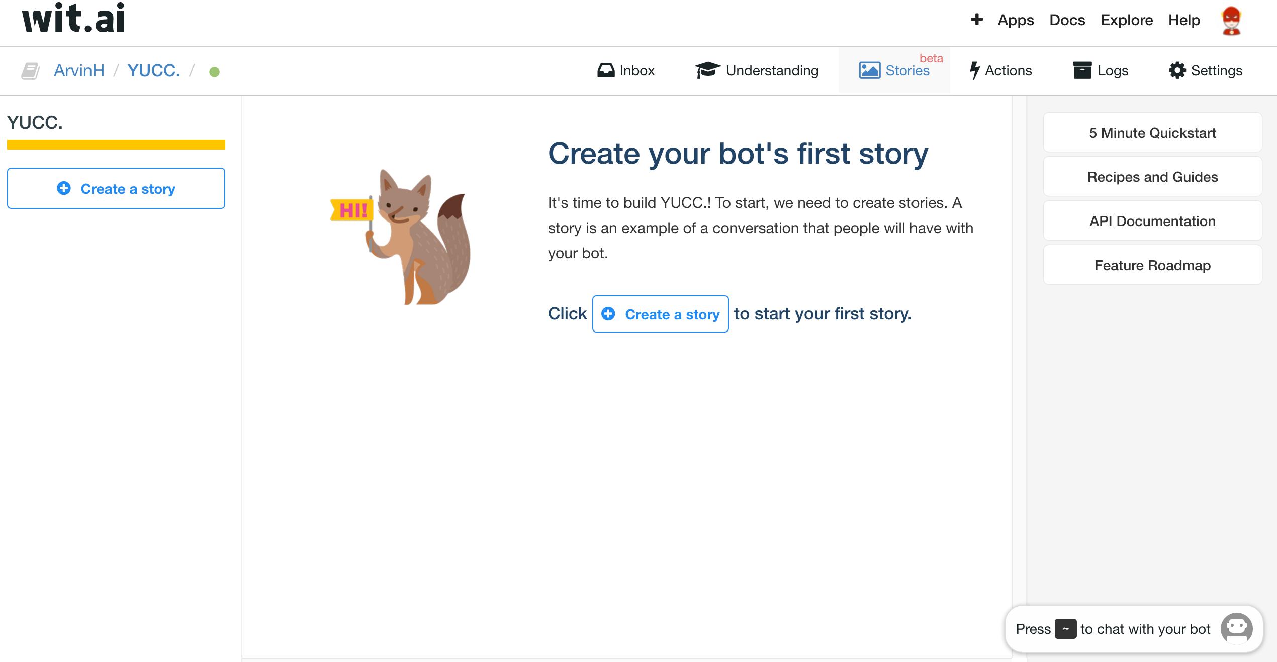Create Story