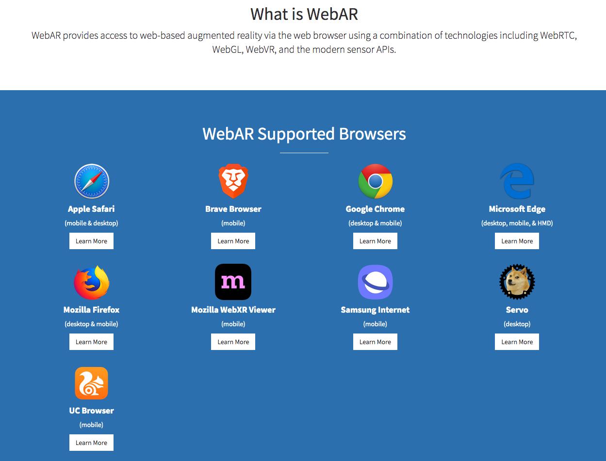支援的 browsers