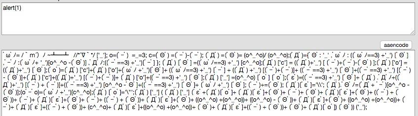 aaencode